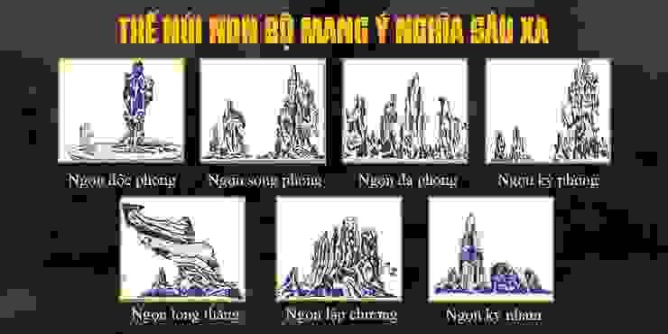 Ý nghĩa của các ngọn giả sơn bởi Công Ty Thi Công Và Thiết Kế Tiểu Cảnh Non Bộ