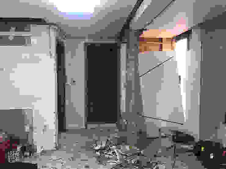오금동 신혼집 주식회사 착한공간연구소 모던스타일 거실