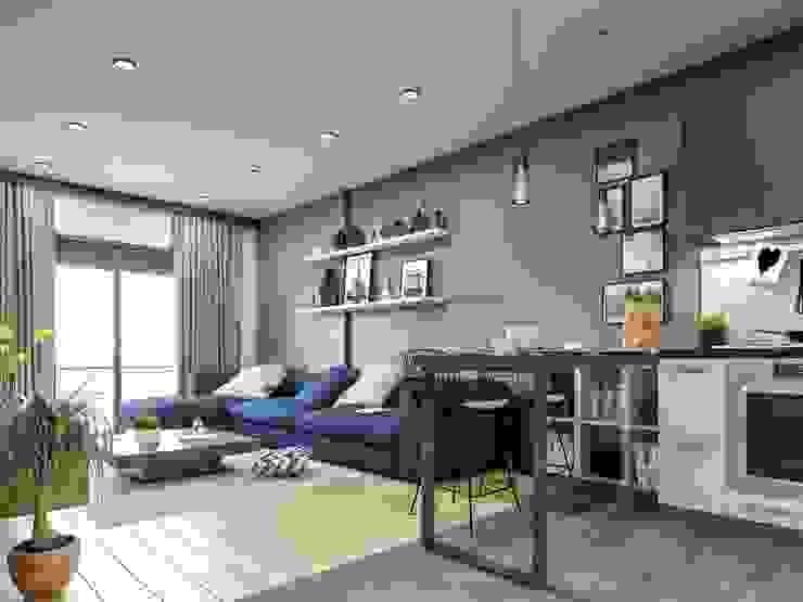 Modern Living Room by Statü Plus Modern