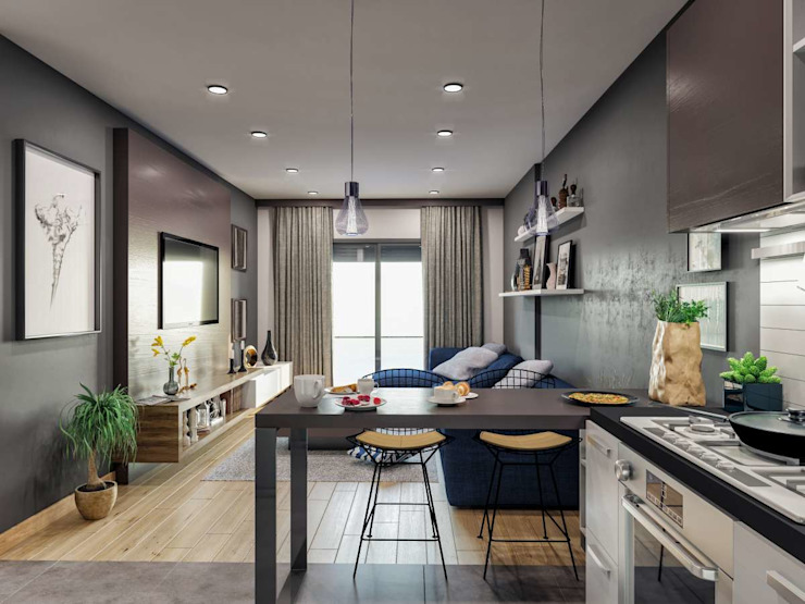 Modern Kitchen by Statü Plus Modern