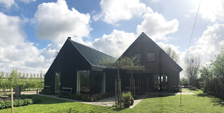 Schuuwoning Nes Moderne huizen van Puurbouwen Modern