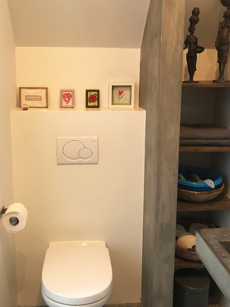 Schuuwoning Nes Moderne badkamers van Puurbouwen Modern