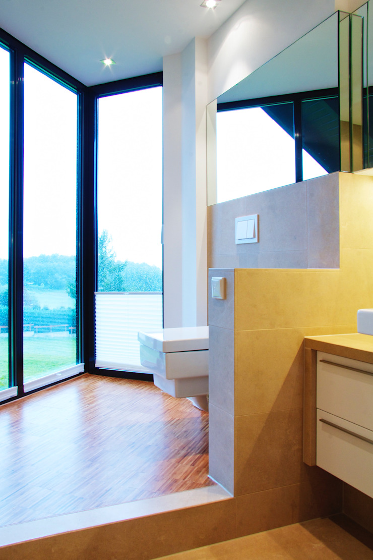Modern style bathrooms by mihome Modern