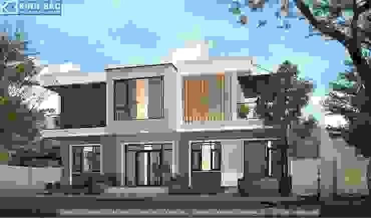 Biệt thự 2 tầng với phong cách hiện đại đẹp bởi Việt Architect Group Hiện đại