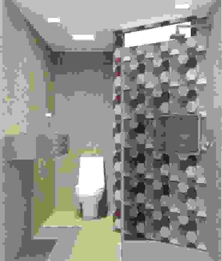 Baños de estilo ecléctico de LVM Arquitetura Ecléctico