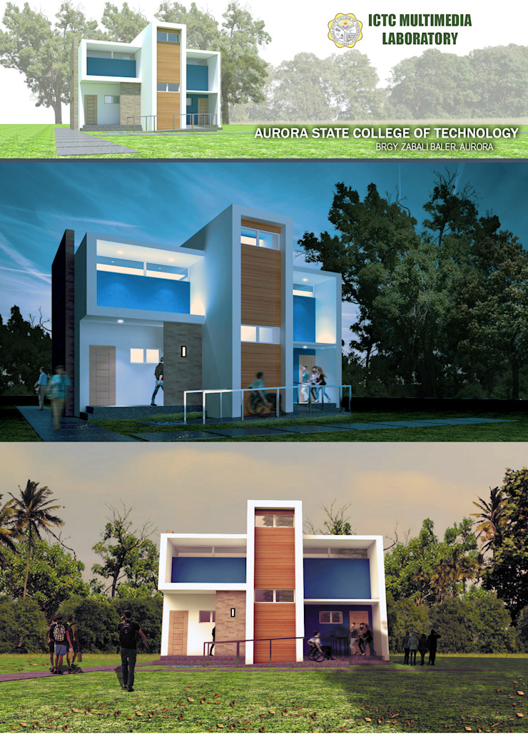 Multimedia Laboratory by Sindac Architectural Design and Consultancy