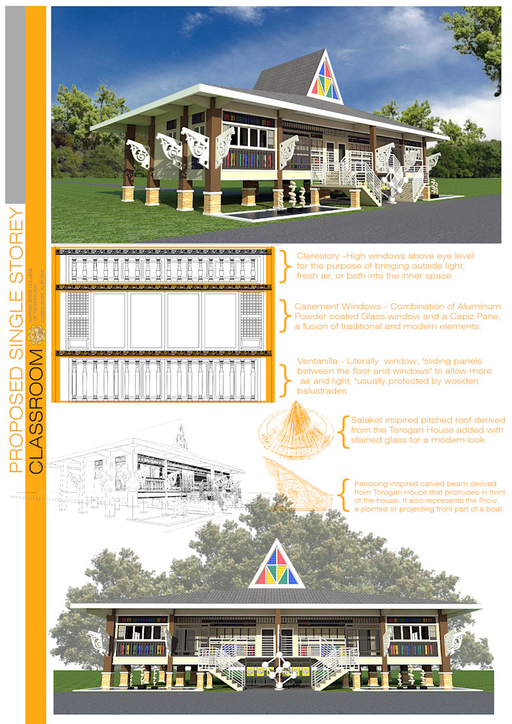 Proposed materials by Sindac Architectural Design and Consultancy