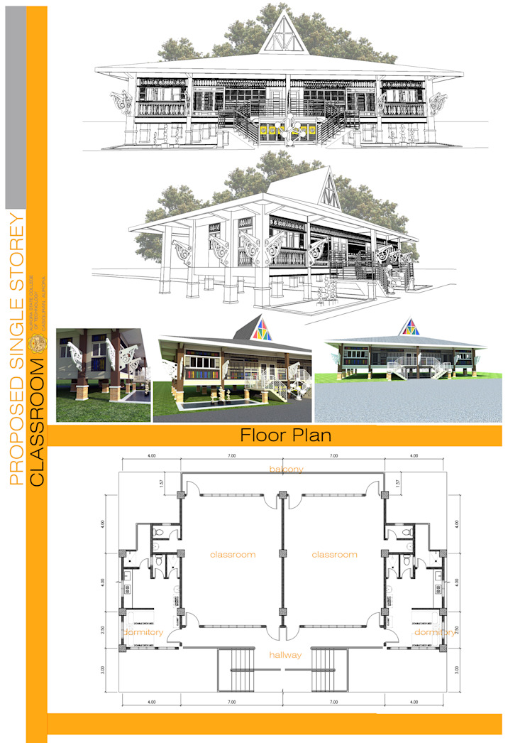 Floorplan by Sindac Architectural Design and Consultancy