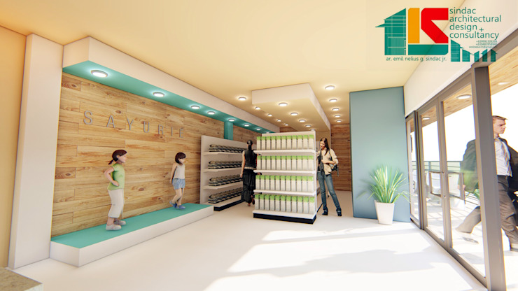 Lifestyle store by Sindac Architectural Design and Consultancy