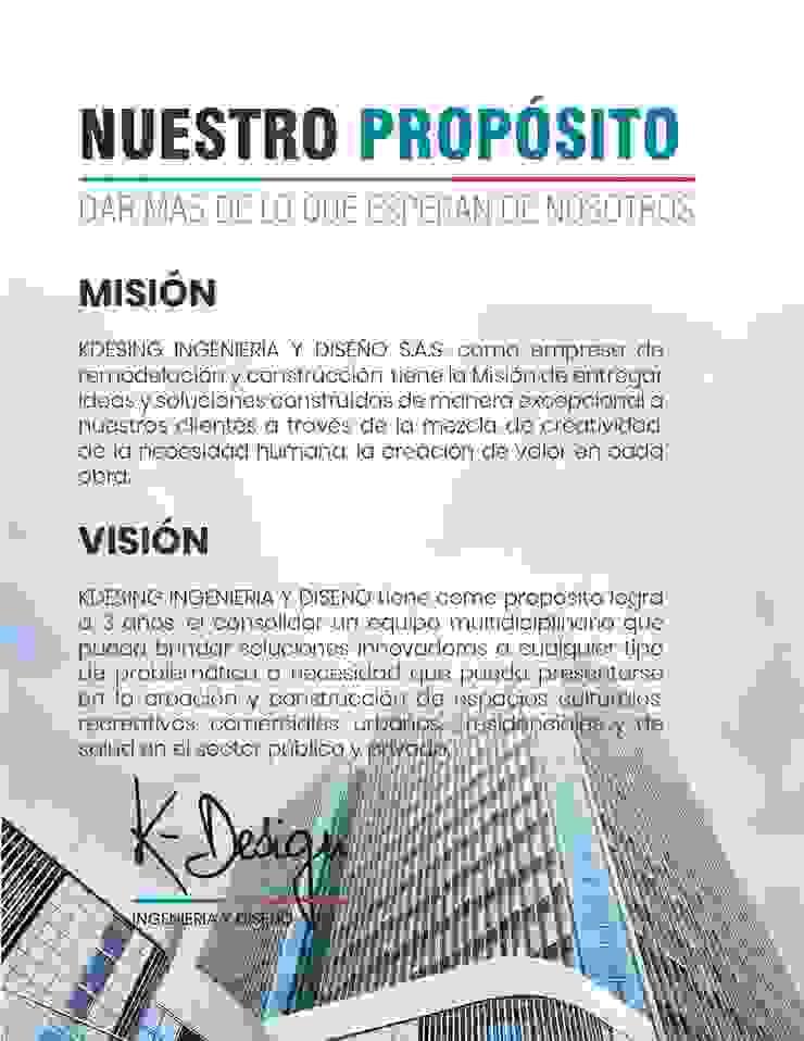 Arquitectura, construcción, diseño interior, remodelación y mantenimiento. de .K-Design arquitectura y diseño interior