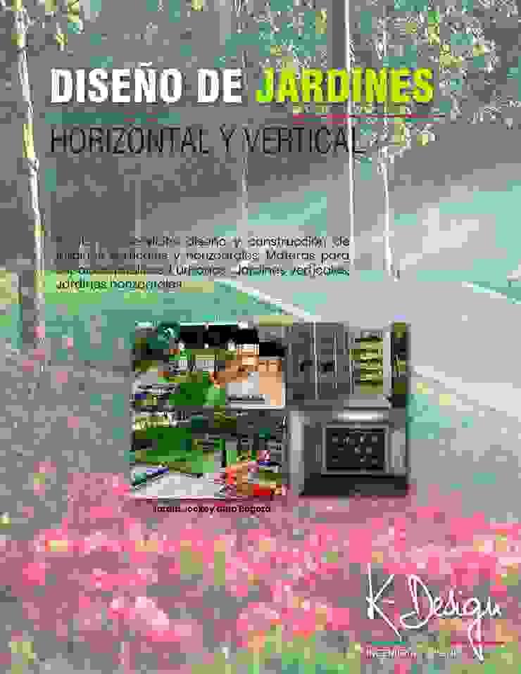 Diseño de jardines de .K-Design arquitectura y diseño interior