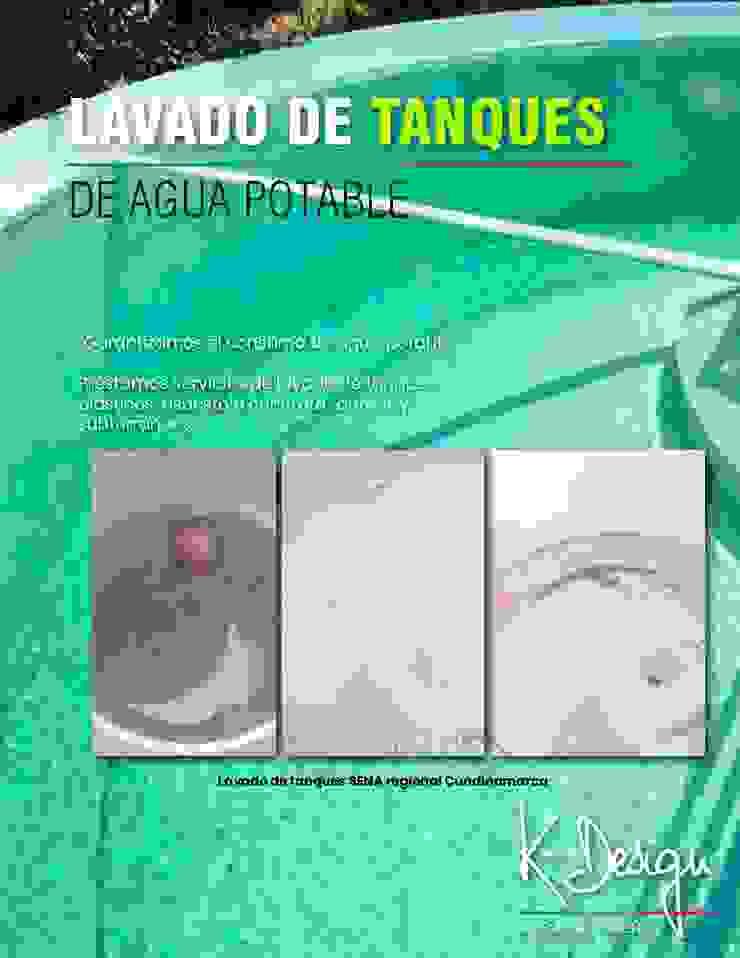 Lavado de tanques de .K-Design arquitectura y diseño interior