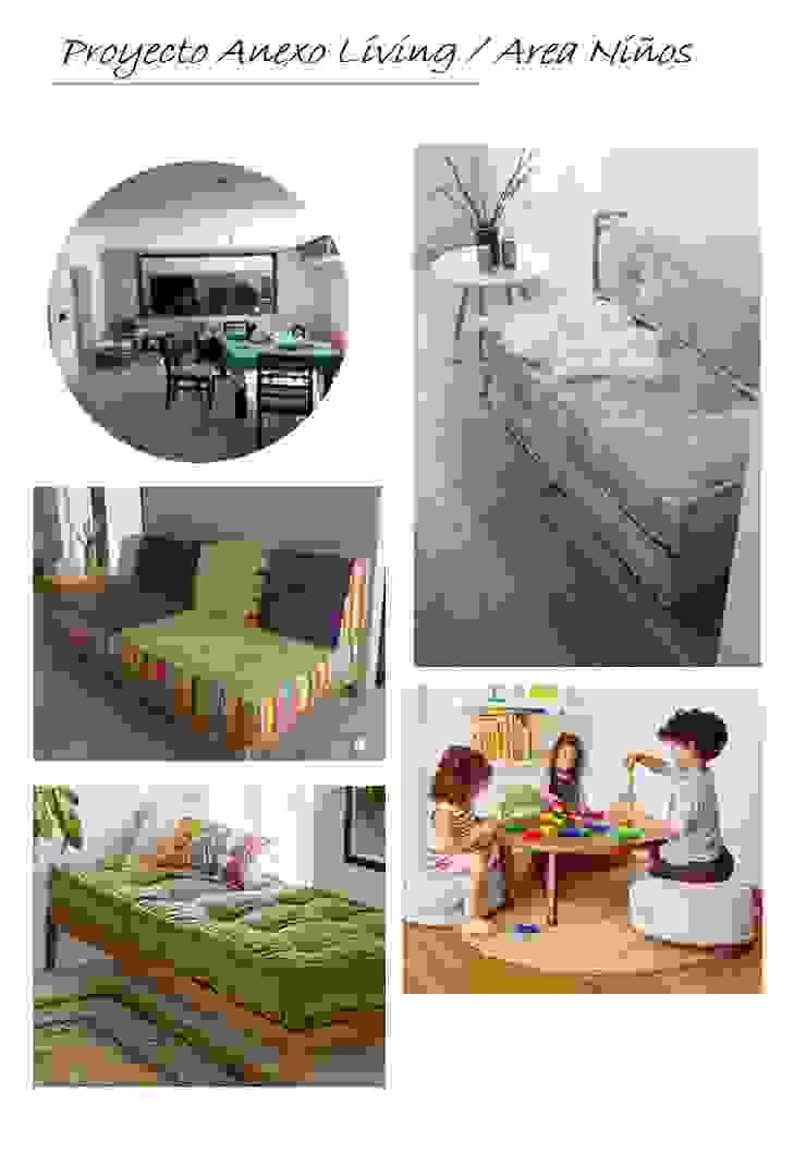Extensión Living / Playroom Salones escandinavos de OOST / Sabrina Gillio Escandinavo