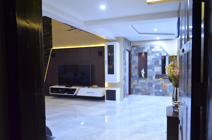 غرفة المعيشة تنفيذ Vdezin Interiors , حداثي