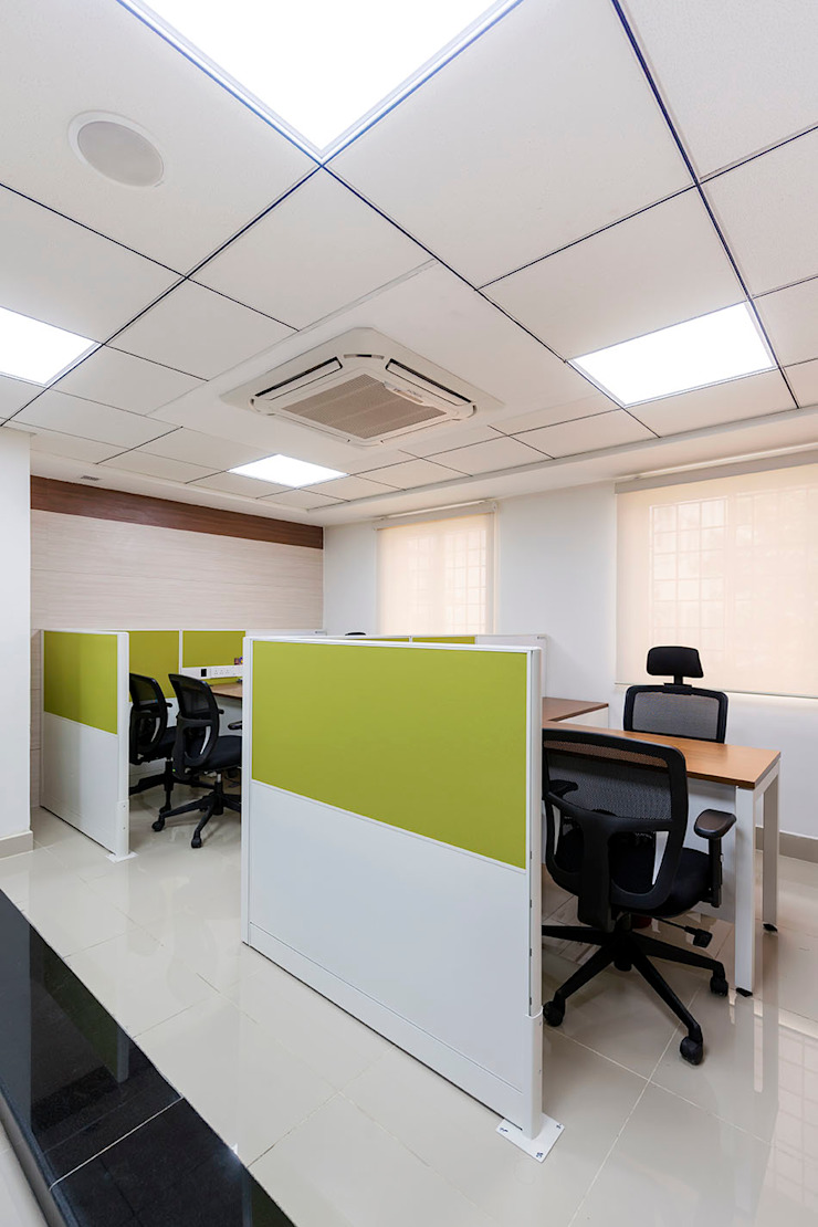 office cabinets: modern  by Elcon Infrastructure, Modern Plywood