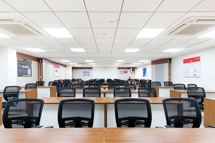 Conference Hall: modern  by Elcon Infrastructure, Modern Plywood