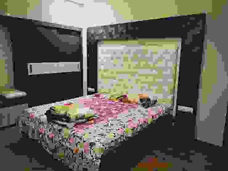 غرفة نوم تنفيذ Vdezin Interiors,