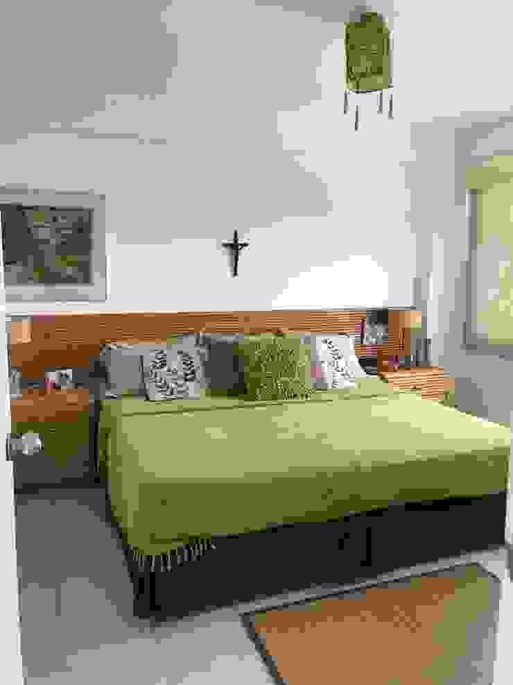 Dormitorio RedecoraYa DormitoriosCamas y cabeceras Bambú Beige