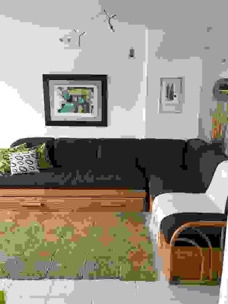 Sala RedecoraYa Salas/RecibidoresSofás y sillones Bambú Marrón