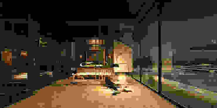 ATLI KÖŞK Modern Oturma Odası GÜVEN KÜÇÜK İÇ MİMARLIK Modern
