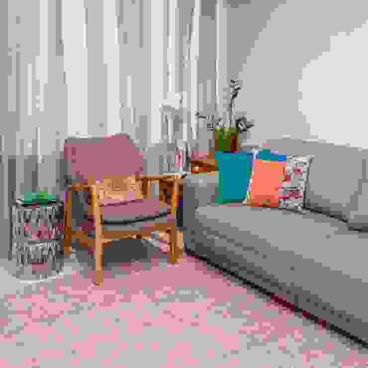 Erlon Tessari Arquitetura e Design de Interiores Ruang Keluarga Modern