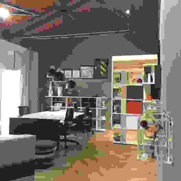 Erlon Tessari Arquitetura e Design de Interiores Modern study/office