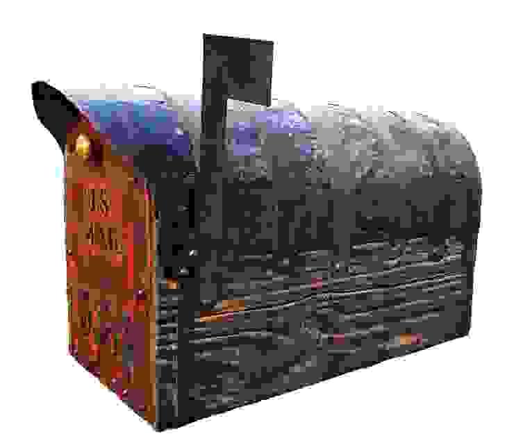 Rustic mailbox: rustic  by Bezaleel workshop, Rustic Wood Wood effect