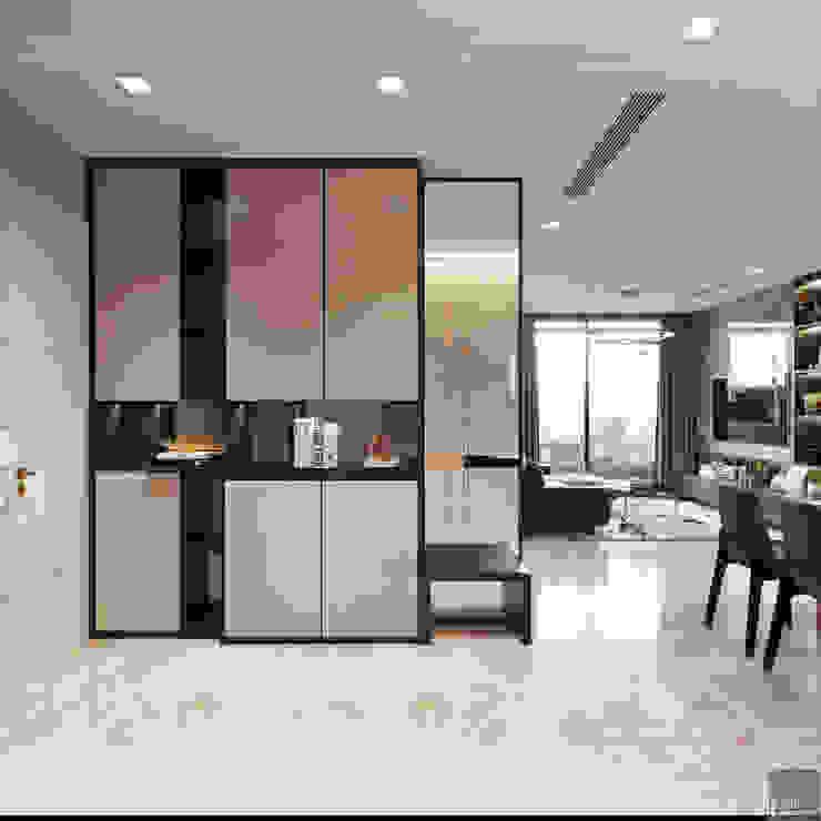Căn hộ phong cách hiện đại: Không gian sống hoàn hảo cho gia đình bận rộn! bởi ICON INTERIOR Hiện đại