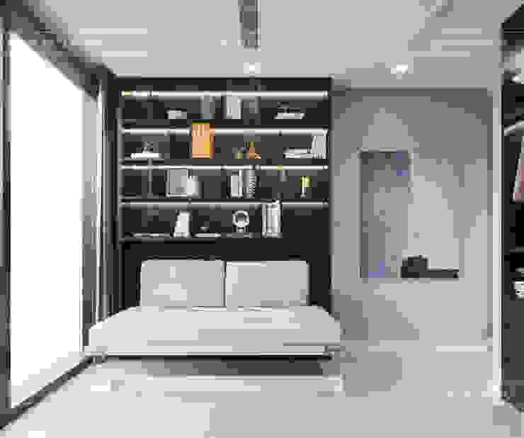 Căn hộ phong cách hiện đại: Không gian sống hoàn hảo cho gia đình bận rộn! Phòng thay đồ phong cách hiện đại bởi ICON INTERIOR Hiện đại