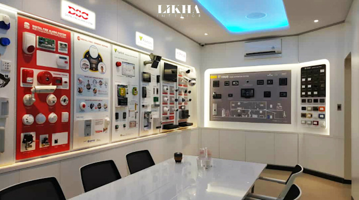 Modern offices & stores by Likha Interior Modern Plywood