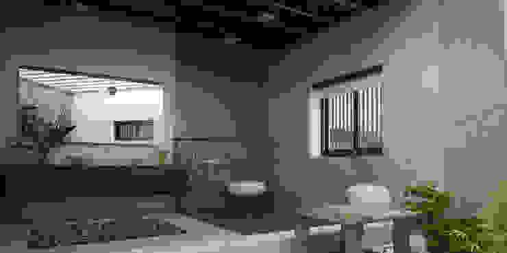 Flooring Tile Trends for 2018 Asian style bathroom by Monnaie Interiors Pvt Ltd Asian