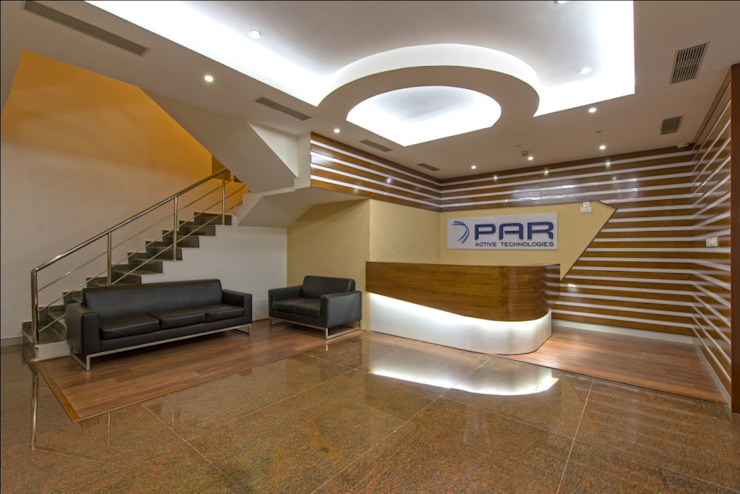 Reception Area by Elcon Infrastructure