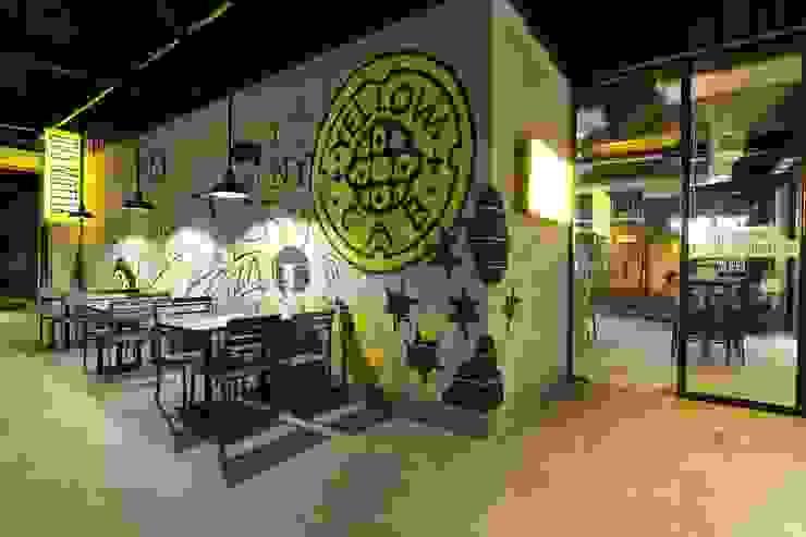 Yellow Cab Burgos Circle, Bonifacio Global City by Cham - Candelaria Inc. Industrial