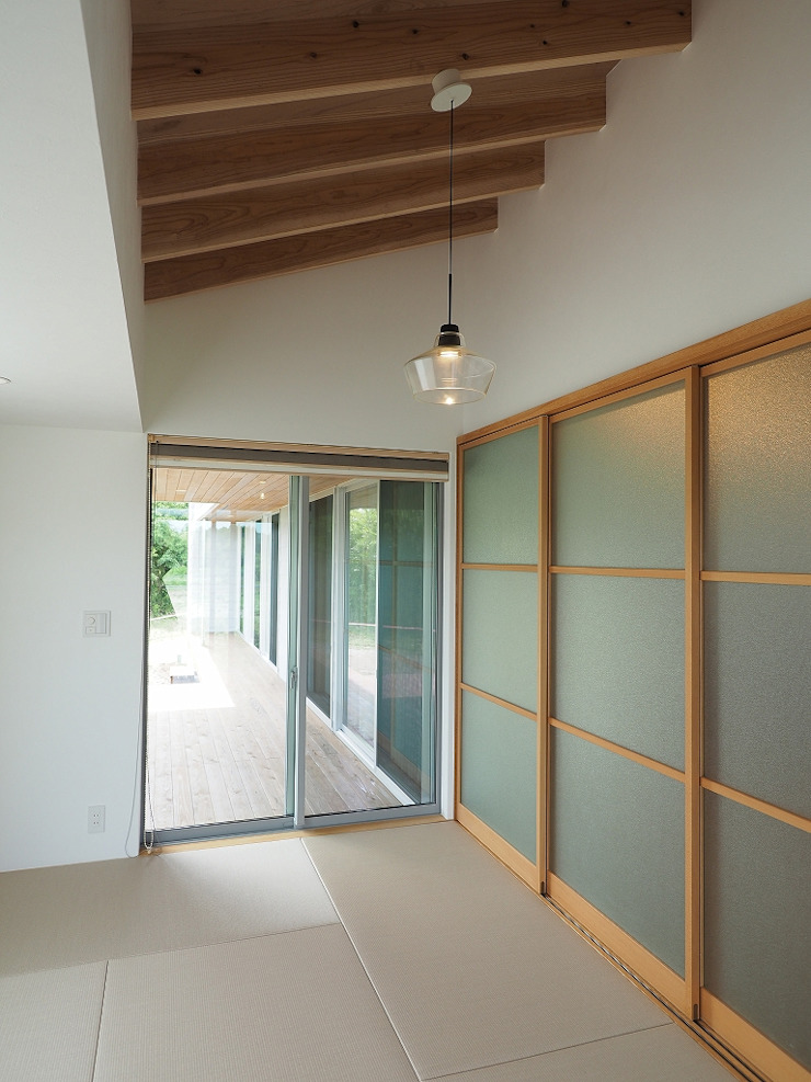 和室 ai建築アトリエ オリジナルデザインの 多目的室