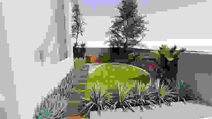 Perspective 1 by 1mm studio | Landscape Design Tropical