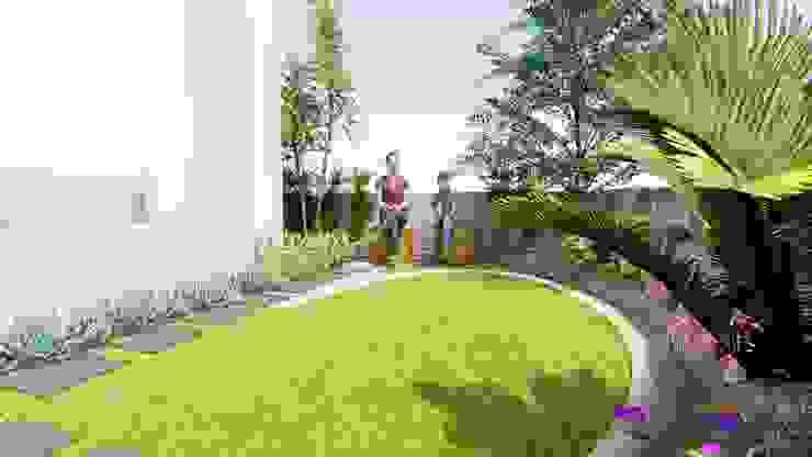 Perspective 3 by 1mm studio | Landscape Design Tropical