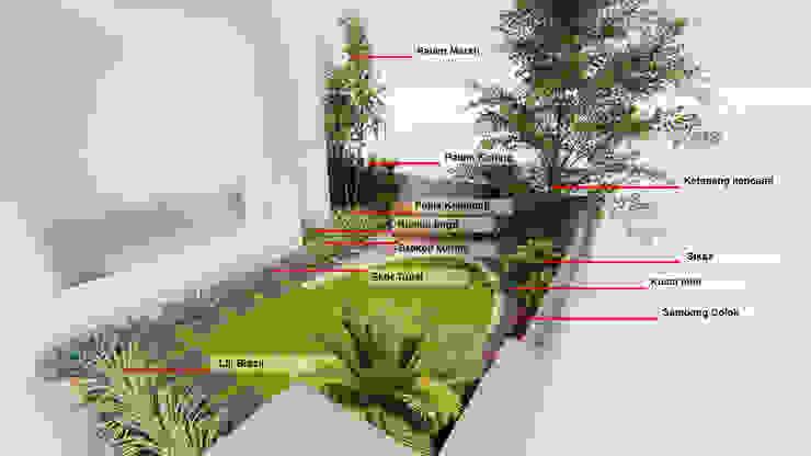 Planting detail by 1mm studio | Landscape Design Tropical
