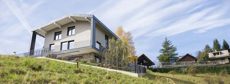 Final result Modern houses by Manuel Benedikter Architekt Modern