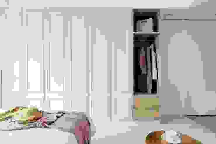 Moderne Schlafzimmer von 文儀室內裝修設計有限公司 Modern