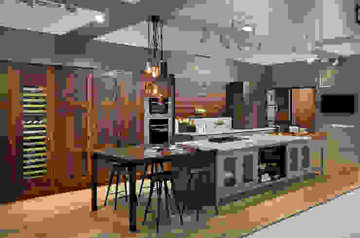 Grand Designs Live 2015 Nhà bếp phong cách đồng quê bởi Teddy Edwards Đồng quê