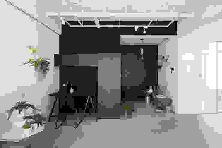 文儀室內裝修設計有限公司 Modern Corridor, Hallway and Staircase