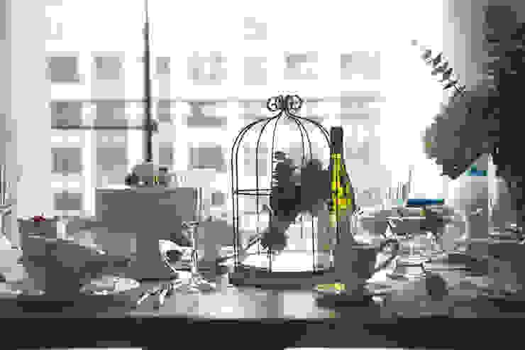 極簡法式絮語 文儀室內裝修設計有限公司 餐廳