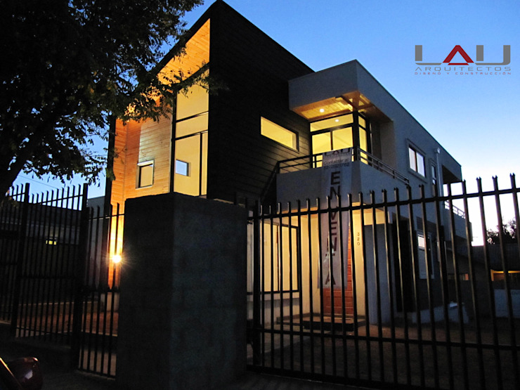 Casa Gral.Cruz Lau Arquitectos Casas unifamiliares
