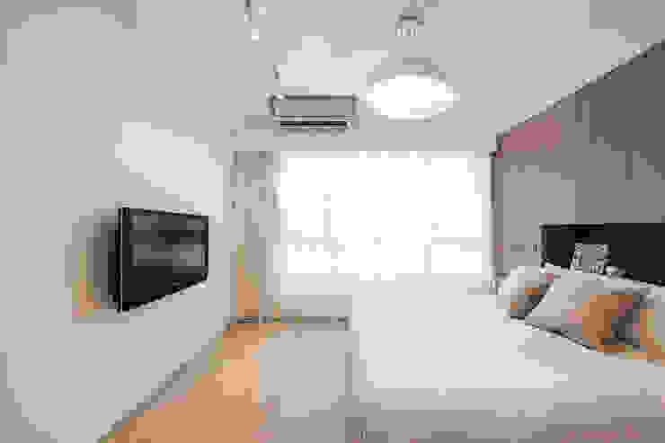 極簡法式絮語 文儀室內裝修設計有限公司 臥室