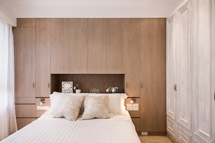 Mediterranean style bedroom by 文儀室內裝修設計有限公司 Mediterranean