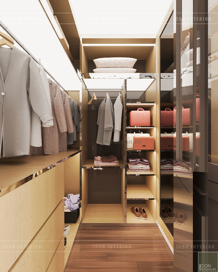 Modern style dressing rooms by ICON INTERIOR Modern