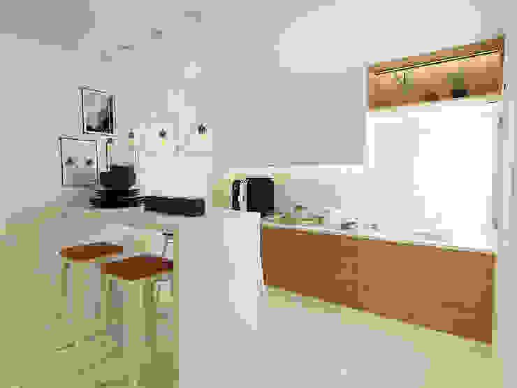 Kitchen Verde Design Lab Modern style kitchen