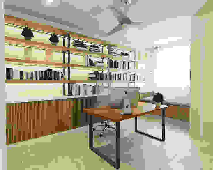 Study Room Modern style study/office by Verde Design Lab Modern