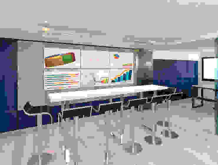 Remodelacion oficinas SCANIA de NEF Arq. Moderno