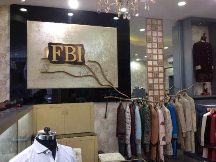 FBI Thane Modern offices & stores by aasha interiors Modern